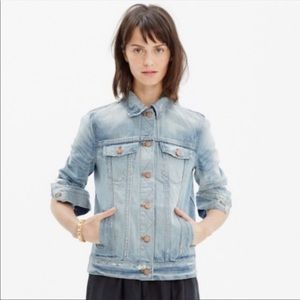 Rivet and Thread for Madewell Jean jacket